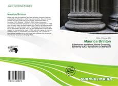 Обложка Maurice Brinton