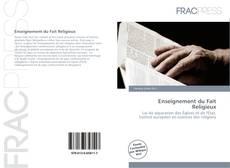 Enseignement du Fait Religieux kitap kapağı