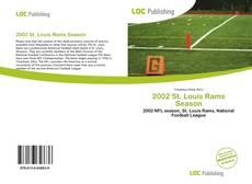 Обложка 2002 St. Louis Rams Season