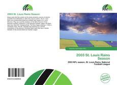Copertina di 2003 St. Louis Rams Season