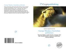 Buchcover von George Mackay (Australian politician)