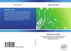 Couverture de Matthew Lloyd