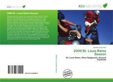 2009 St. Louis Rams Season kitap kapağı