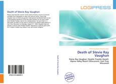 Bookcover of Death of Stevie Ray Vaughan
