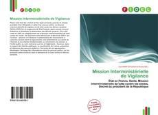 Capa do livro de Mission Interministérielle de Vigilance