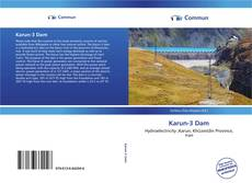 Bookcover of Karun-3 Dam