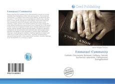 Bookcover of Emmanuel Community