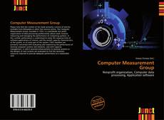 Copertina di Computer Measurement Group