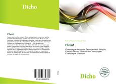 Capa do livro de Plivot