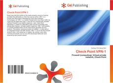 Bookcover of Check Point VPN-1