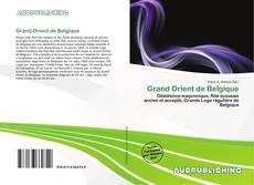 Capa do livro de Grand Orient de Belgique