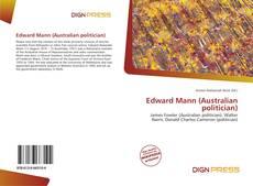 Bookcover of Edward Mann (Australian politician)