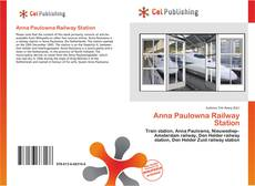 Bookcover of Anna Paulowna Railway Station