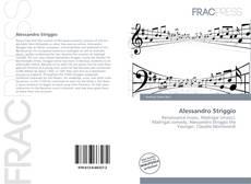 Capa do livro de Alessandro Striggio