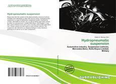 Buchcover von Hydropneumatic suspension