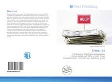 Capa do livro de Donation
