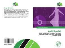 Buchcover von Antje Duvekot