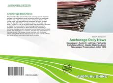 Anchorage Daily News的封面