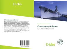 Bookcover of Champagne-Ardenne