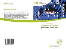 Bookcover of Missense Mutation