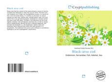 Bookcover of Black-arse cod