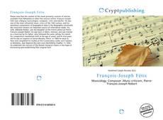 Buchcover von François-Joseph Fétis