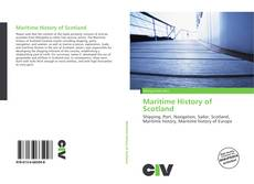 Bookcover of Maritime History of Scotland
