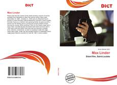 Bookcover of Max Linder