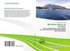 Bookcover of Maritime history of Somalia