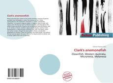 Clark's anemonefish kitap kapağı