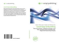 Buchcover von Local-loop Unbundling