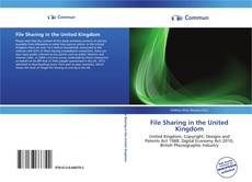 Bookcover of File Sharing in the United Kingdom
