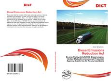Copertina di Diesel Emissions Reduction Act
