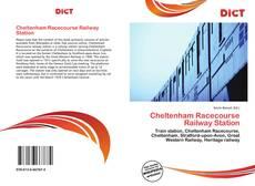 Bookcover of Cheltenham Racecourse Railway Station