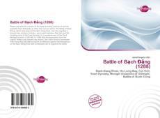Buchcover von Battle of Bạch Đằng (1288)