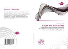 Capa do livro de Action of 1 March 1968