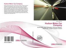 Bookcover of Hudson Motor Car Company