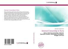 Borítókép a  Internet Censorship in Syria - hoz