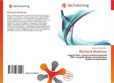 Bookcover of Richard Stallman