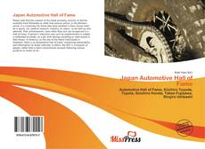 Bookcover of Japan Automotive Hall of Fame