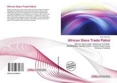 Bookcover of African Slave Trade Patrol