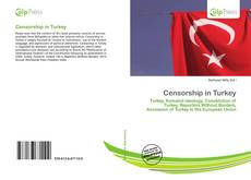 Обложка Censorship in Turkey