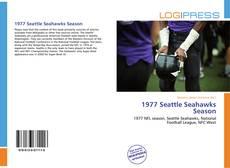 Borítókép a  1977 Seattle Seahawks Season - hoz