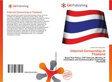 Bookcover of Internet Censorship in Thailand