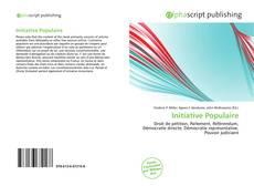 Buchcover von Initiative Populaire