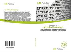 Bookcover of Ab Initio (Company)