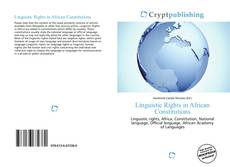 Обложка Linguistic Rights in African Constitutions