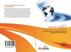Обложка Linguistic Rights in European Constitutions