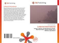 Bookcover of Letterist International