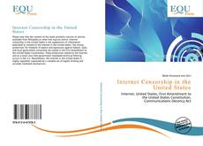 Bookcover of Internet Censorship in the United States